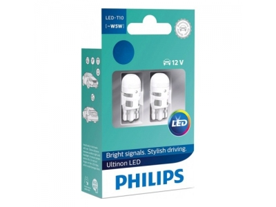 Автолампы Philips LED Vision T10 6000K